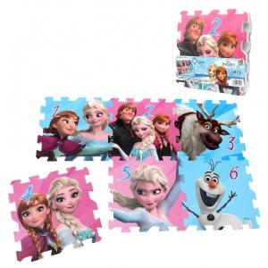 La Reine des neiges foam puzzle - 6 pcs