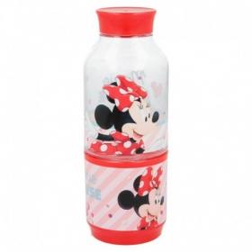 Tritan Snack Bottle 300 Ml Minnie Electric Doll