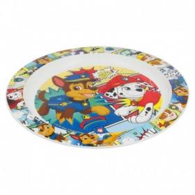 Kids Micro Plate Paw Patrol Comic