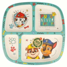 Bamboo Divided Plate Paw Patrol Boy Dream Patrol