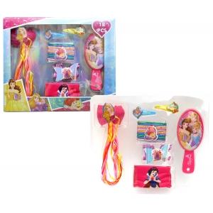 Princess hair accessories - 18 pcs