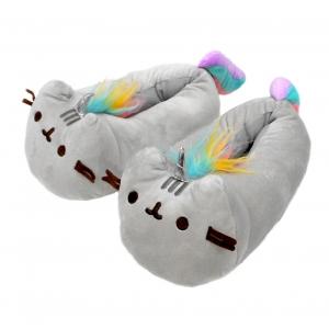 Pusheen™ Unicorn Plush slippers 37 cm