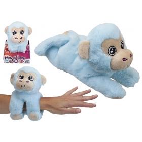 28 cm Hugglers Snap Band Plush On Tray Box Monkey