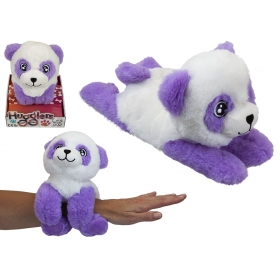 28 cm Hugglers Snap Band Plush On Tray Box Panda