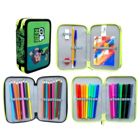 Ben 10 pencil case with accessories