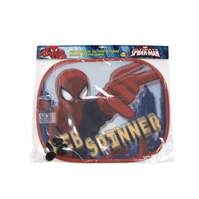 Spiderman car sun shade 2 pcs + draw