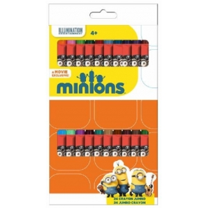 Minions wax crayons 24 pcs
