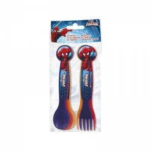Spiderman 6 Pcs Cutlery Set