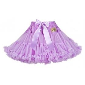 Lavashka party luxury skirt – lavender + gift box, s. 3-4 years