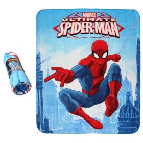 Spiderman fleece blanket