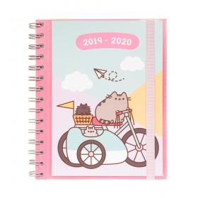 Pusheen School diary 2019/2020 sv  gold
