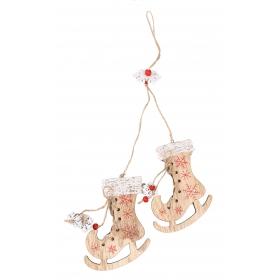 Christmas pendant ice skates 45x9 cm