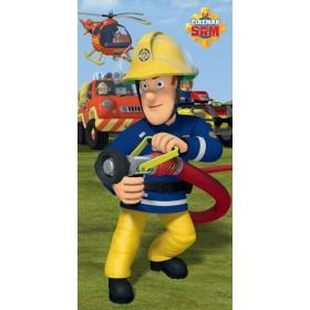 Fireman Sam beach cotton towel