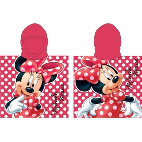 Minnie Mouse poncho towel fast dry