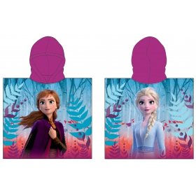 Frozen poncho towel fast dry