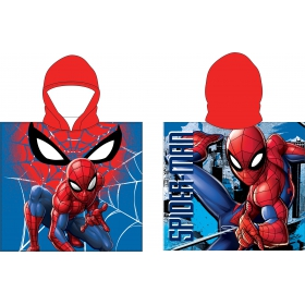 Spiderman poncho towel fast dry