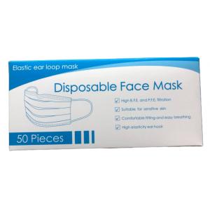 3 ply civil face mask