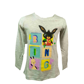 Bing girls' long sleeve blouse