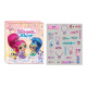 Advent calendar with Shimmer and Shine hair accessories