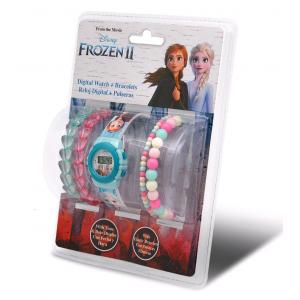 Digital watch + 2 bracelets Frozen