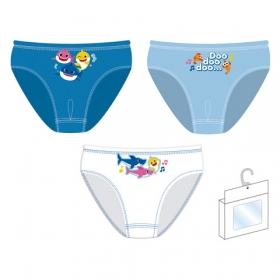 Baby Shark boys panties 3 pack