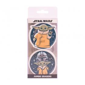 Star Wars the Mandalorian eraser set