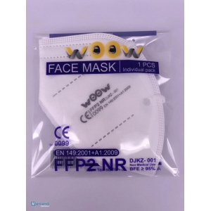 FFP2 protective face mask respirator - EU production