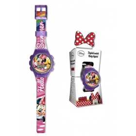 Digital watch in box  Minnie Mouse