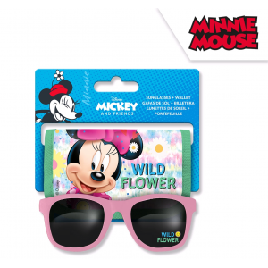 Minnie Mouse sunglasses + wallet