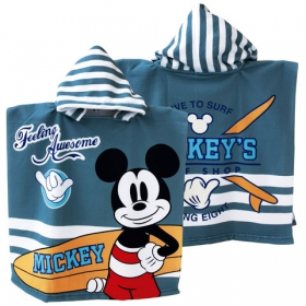 Mickey Mouse fast dry poncho towel