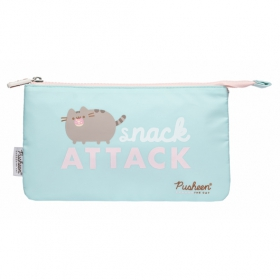 Pusheen foodie collection triple pencil case