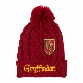 Hat with applications patches Harry Potter