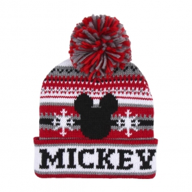 Hat jacquard Mickey Mouse