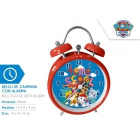 Alarm clock with alarm 13x9x4 cm Paw Patrol